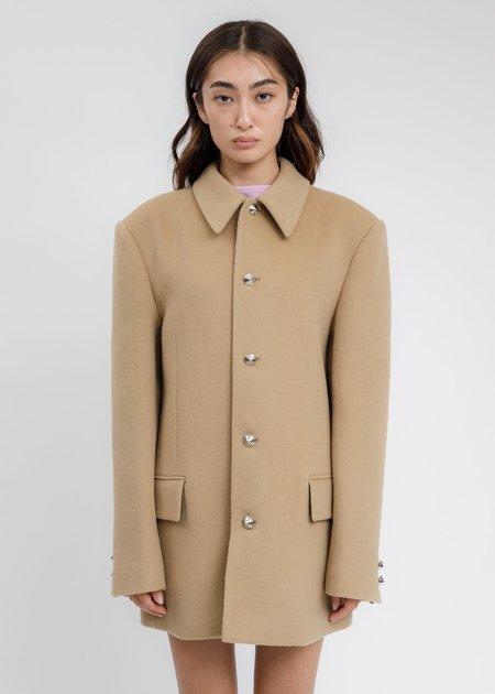 we11done Regular Collar Suit Jacket - Beige