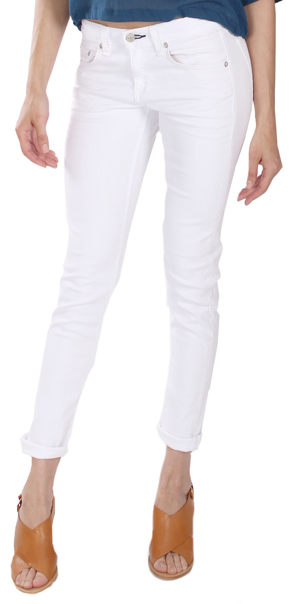 Rag & Bone The Dre Jean in Bright White