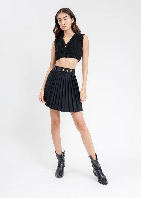 Charles Jeffrey Mini Skirt - Black