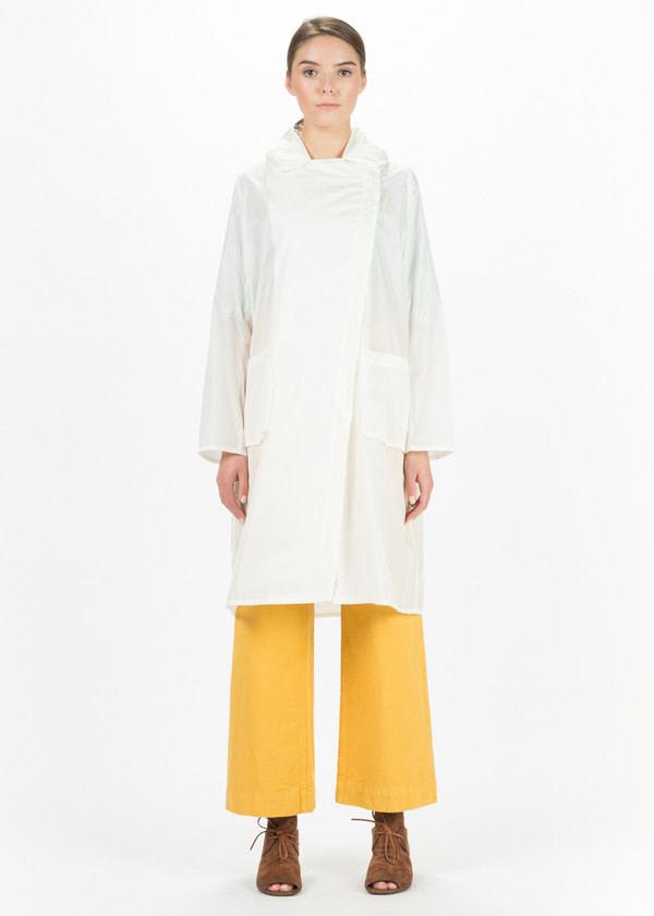 Hudson Lightweight Asymmetrical Zip Coat