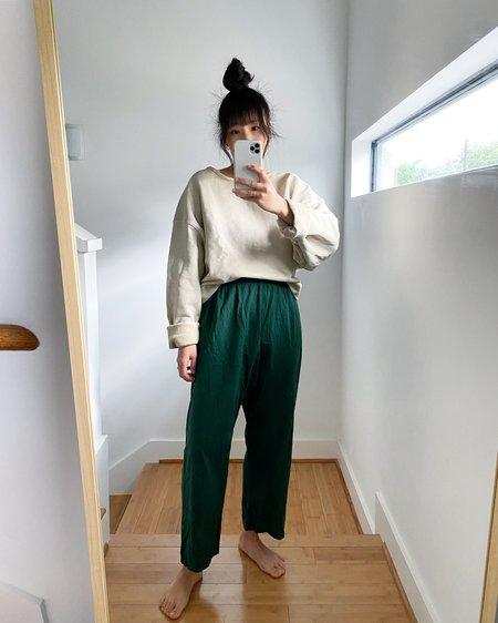 UZI NYC Cotton Pants - Pine
