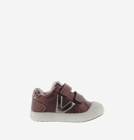 kids Victoria Metallic Trainers shoes - Burdeos/Bordeaux