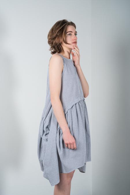 Rachel Comey Popcorn Dress - Black Stripe