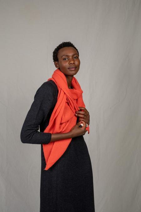 L'ENVERS ALICE Wool Scarf - orange