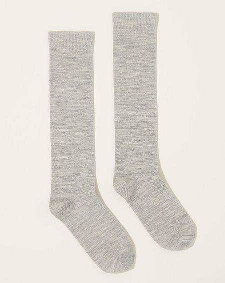 Lauren Manoogian Tall Socks - Silver