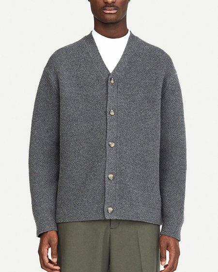 Samsøe & Samsøe Colton 14072 Cardigan - Dark Grey Melange