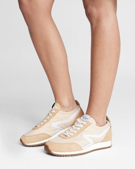 Rag & Bone RETRO RUNNER sneakers - OYSTERGREY