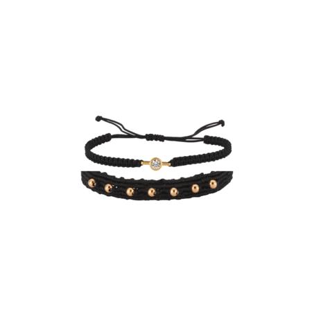 Maison Irem Fosette 2 Set Bracelet - Gold