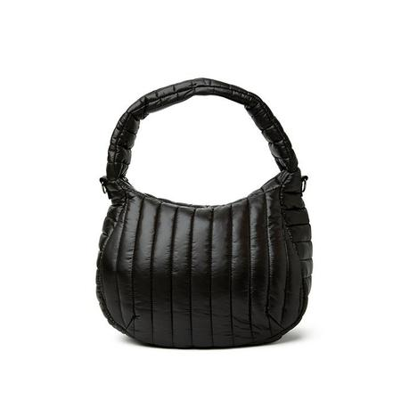 Think Royln Meg Shoulder Bag - Shiny Black