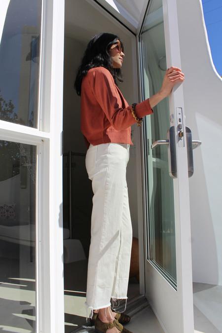 Rachel Comey Slim Legion Pant Dirty White
