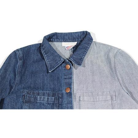 Carleen Triangle Pocket Jacket - Half-Tone