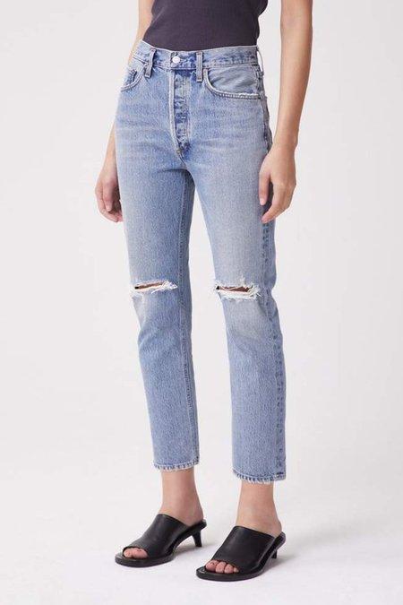 AGOLDE RILEY HI RISE CROP Jeans - ESCALATE