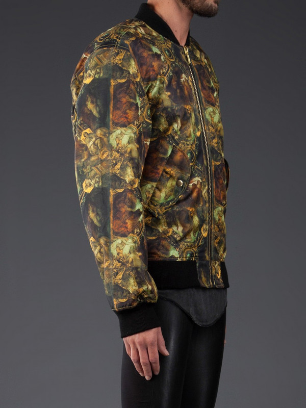 MEN'S HORACE DIGITAL PRINT BOMBER JACKET