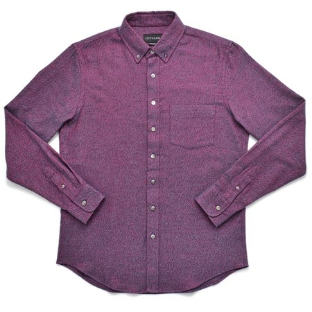 Outclass TWILL FLANNEL top - MAGENTA