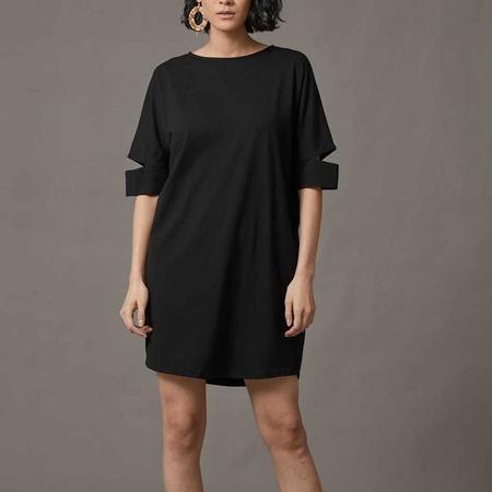 COKLUCH Blind Vision Dress Tunic - black