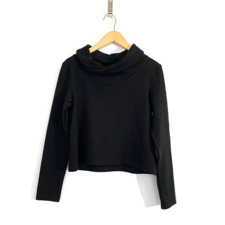 COKLUCH  Riviere Sweater - Black Crinkle