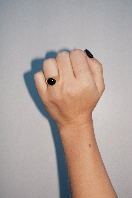 Unisex Luiny Krasner Ring - Onyx
