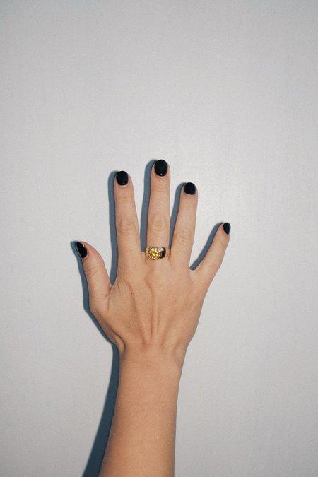 Luiny Mondrian Ring - Yellow