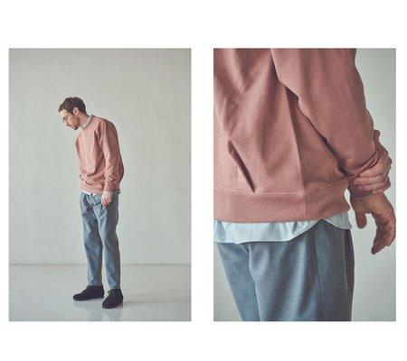 Still By Hand Diagonal Seam Sweatshirt - Off White