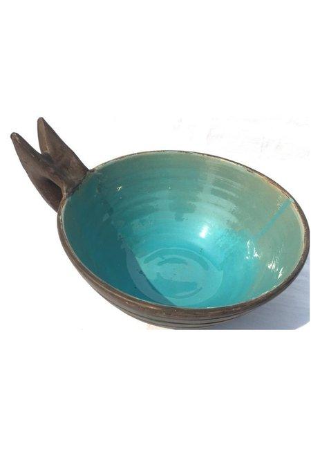 PICKERNEWYORK Picker Large Bowl With Matte Exterior & Glazed Liner