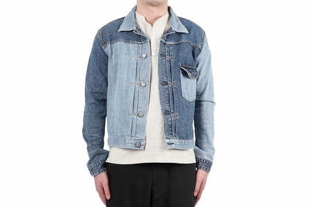 Remi Relief 1ST DENIM JACKET (REMAKE) - USED BLUE