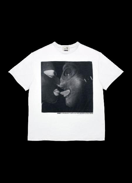 YMC Women's Triple Cotton Fetish Print T Shirt - White