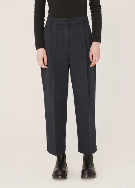 YMC Market Aquila Twill Trousers - Navy