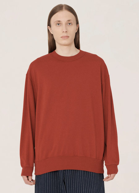 YMC Triple Cotton Jersey Long-Sleeved T Shirt -  Red
