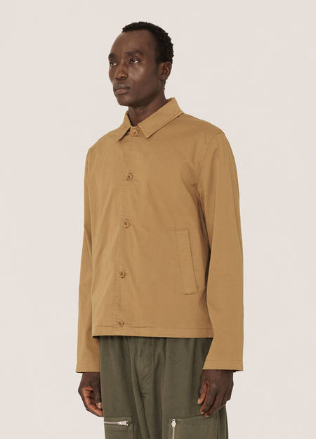 Vintage YMC Groundhog Cotton Twill Jacket - Camel