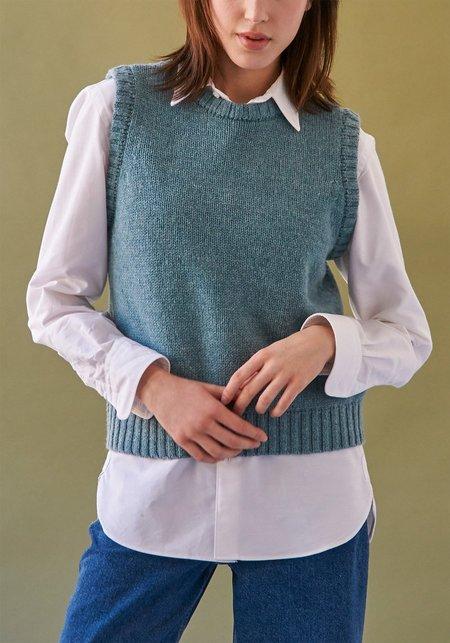 Demy Lee Pauline Wool Vest - Blue