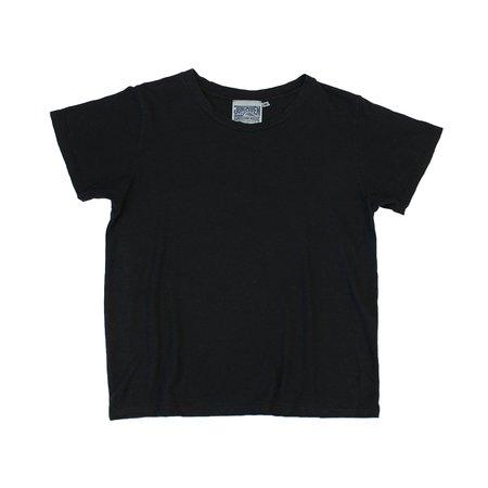 Jungmaven Cropped Ojai Tee - Washed Black