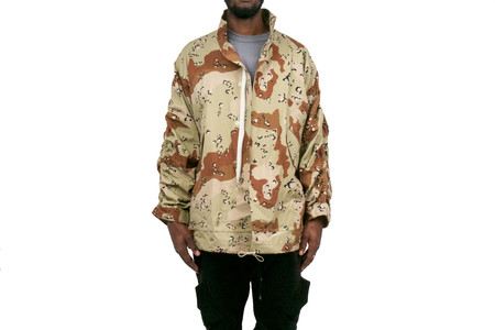 Mr Completely CROPPED MILITARY PARKA