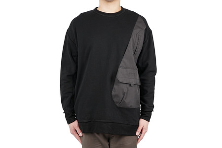 "Guerrilla Group DISPLACEMENT VEST CREWNECK 02 ""ES-TC01"""