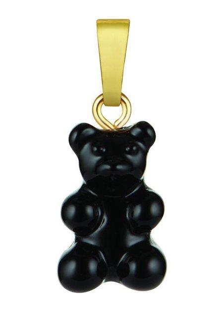 Crystal Haze Nostalgia Bear Pendant - Black