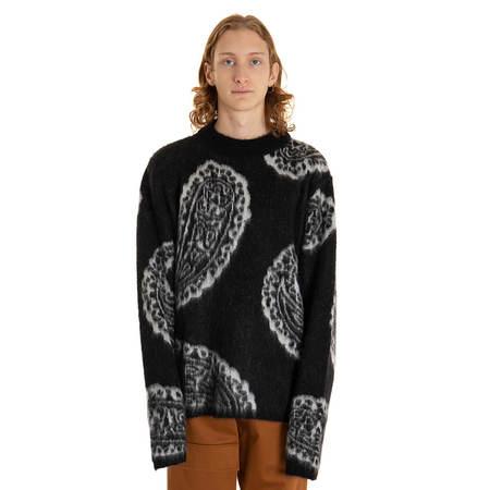 424 Paisley Sweater - Black
