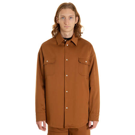 424 Workmen padded shirt - Brown