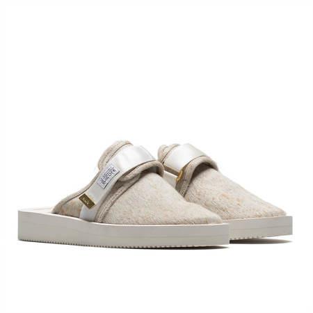 UNISEX SUICOKE Zavo-VHL slippers - WHITE