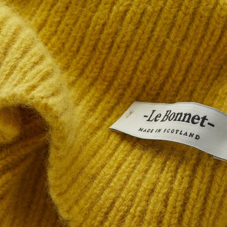 Le Bonnet BEANIE - MUSTARD