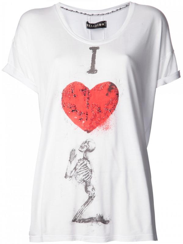 Religion I Love T-Shirt