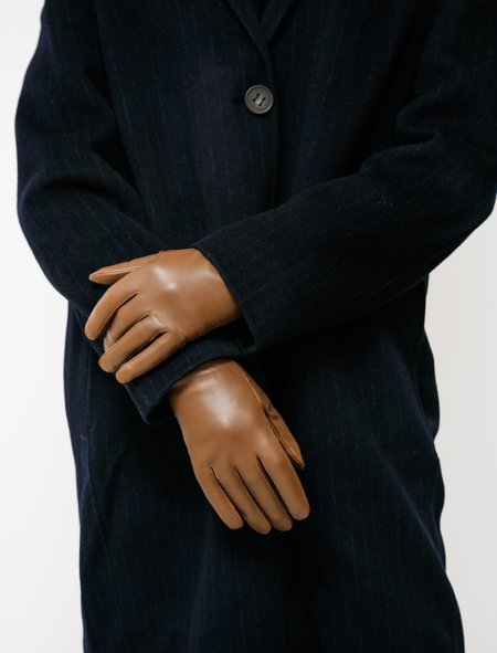 Norse Projects Asa Leather Gloves - Duck