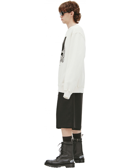 Undercover Printed sweatshirt - Beige