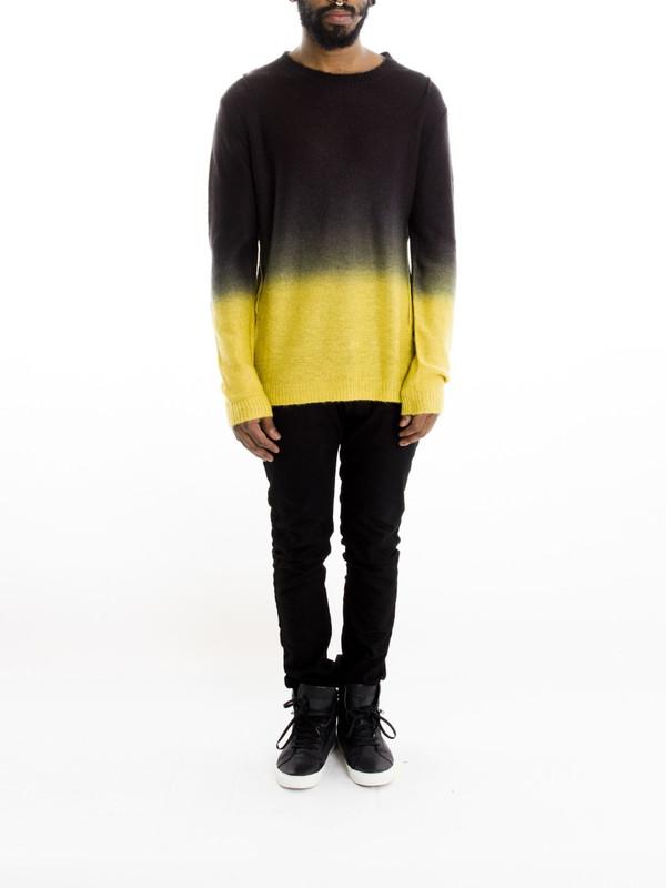 Men's Religion Ombre Sweater