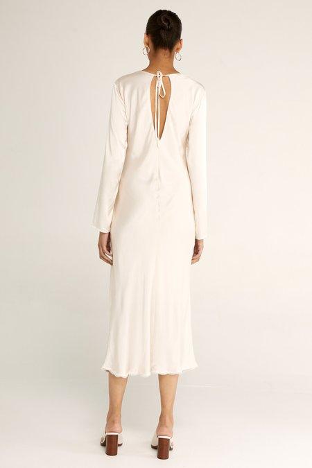 Third Form Last Dance Bias Maxi Dress - Cream
