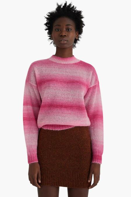 Paloma Wool Salinas Multicolor Fushia Sweater - Pink