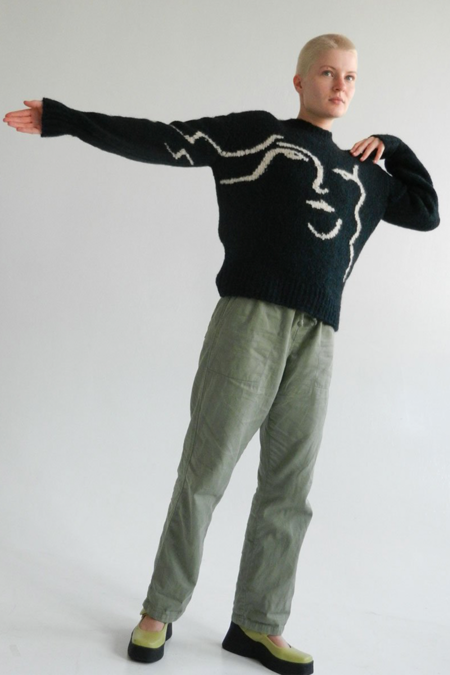 Paloma Wool Wink Anita Sweater - Dark Green