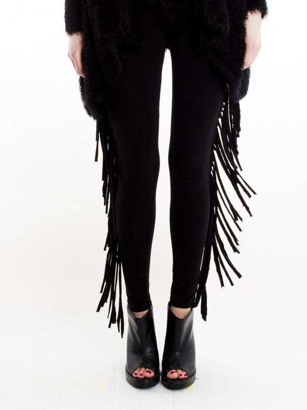 Religion Tassel Leggings
