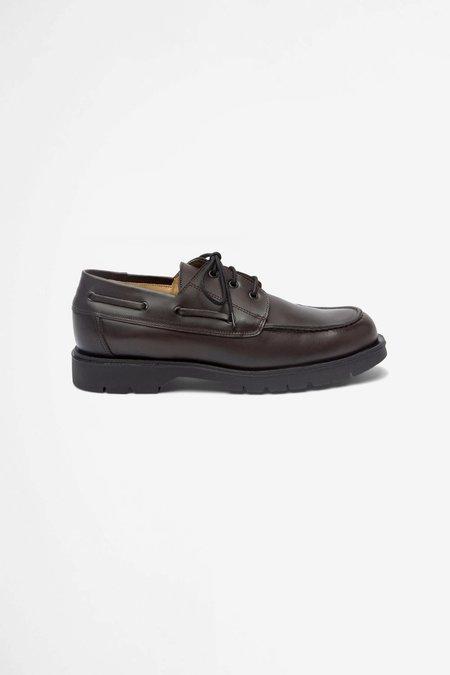 Kleman Donato leather derby shoes - brown/black