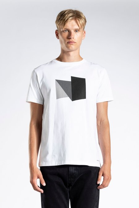 Norse Projects Niels Standard Abstract Tshirt - Battleship Grey