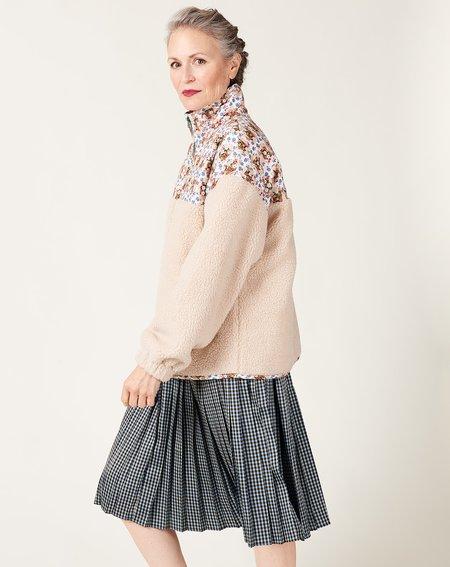 No.6 Kelli Jacket - Bone Trellis Floral
