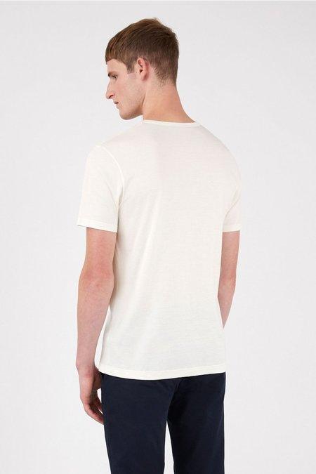 Sunspel Classic cotton t-shirt - archive white